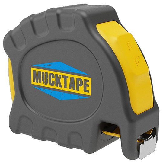 Mucktape 25' Tape Measure for Harsh Conditions